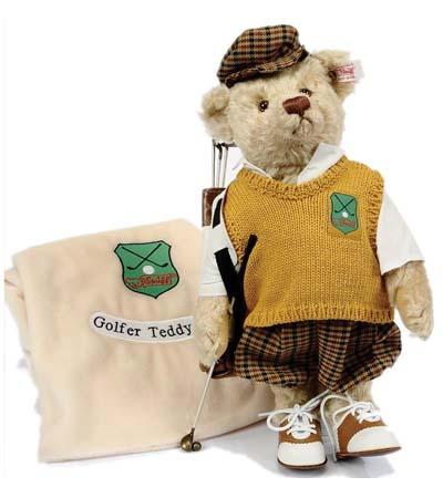 ゴルフ プレイヤー テディベア