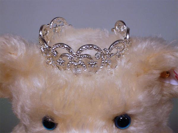 シュタイフ プリンセス ディテディベア王冠
