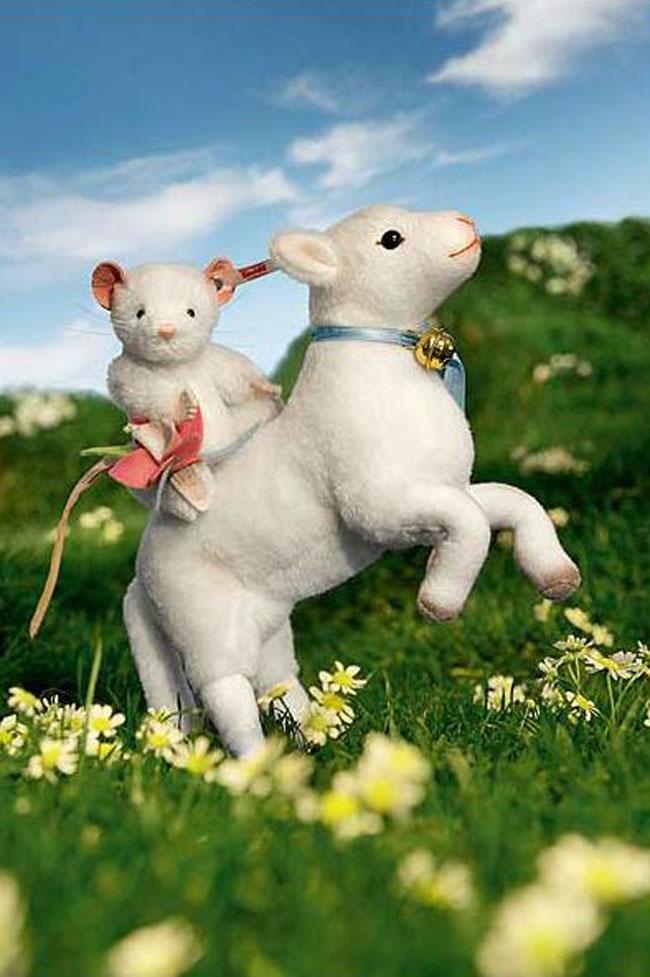 シュタイフ 子羊のレナ