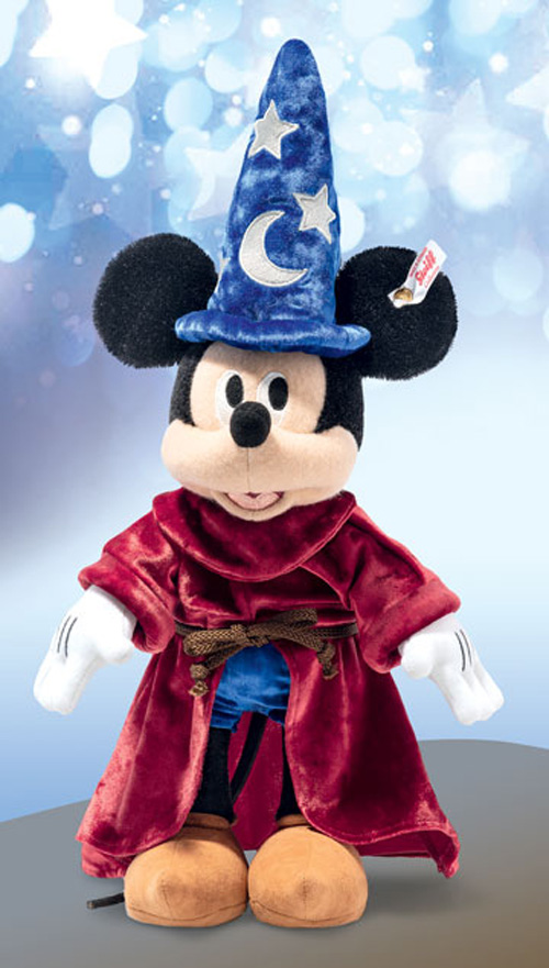 シュタイフ ディズニー 魔術師の見習い ミッキー マウス