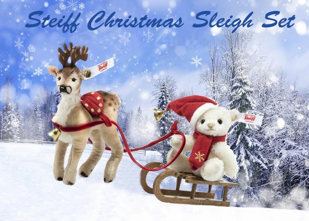 シュタイフ クリスマスそりセット