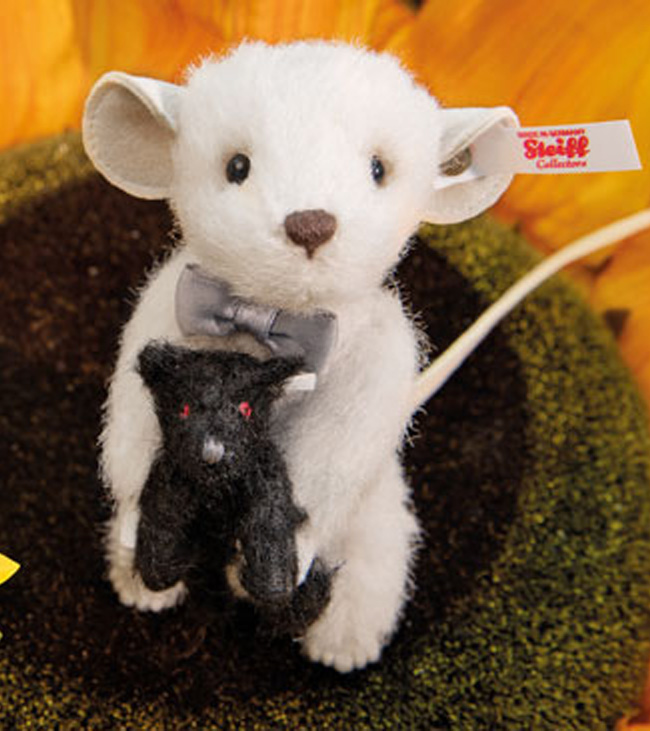 シュタイフ ぺキーマウスとテディベア