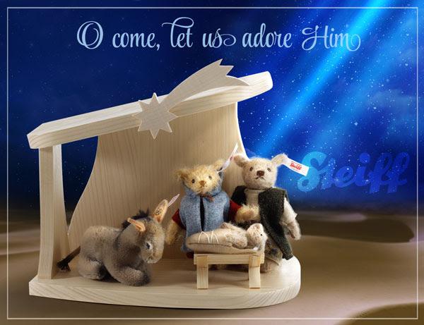 シュタイフ キリスト降誕のシーン2020