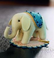 小さな象の針刺し